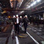 На металлургическом заводе в родной Макеевке