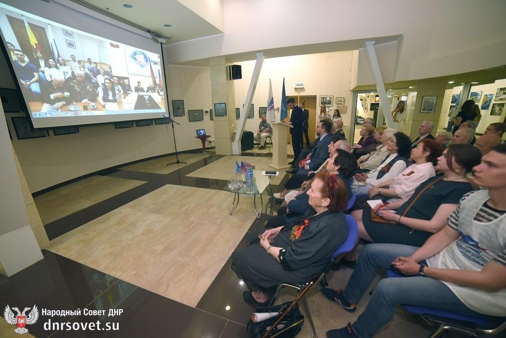 Денис Пушилин принял участие в видеоконференции, посвященной проведению акции «Бессмертный полк»