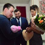 Торжественная регистрации рождения, 10000-й с начала года