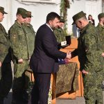 Присвоение звания «Гвардейский» батальону «Спарта»