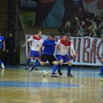 Товарищеский матч по мини-футболу между командами ДНР и ЛНР