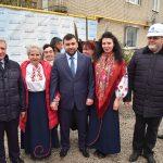Запуск нового газопровода в селе Петровском Старобешевского района