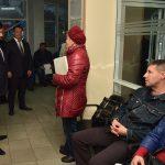 Посещение Единого регистрационного центра в Донецке