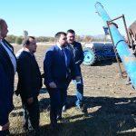 Посещение одного из фермерских хозяйств Тельмановского района