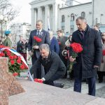 Глава ДНР Денис Пушилин принял участие в многотысячном шествии в Симферополе, посвященном годовщине Общекрымского референдума