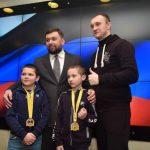 Встреча с талантливыми детьми из прифронтовых районов ДНР
