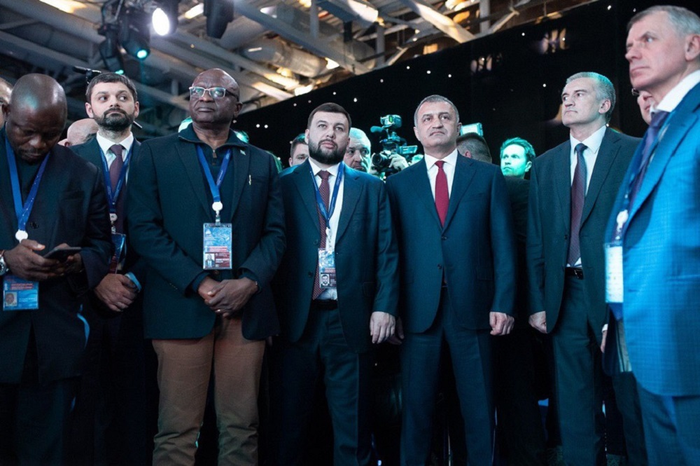 Глава ДНР Денис Пушилин принял участие в торжественной церемонии открытия V Ялтинского международного экономического форума