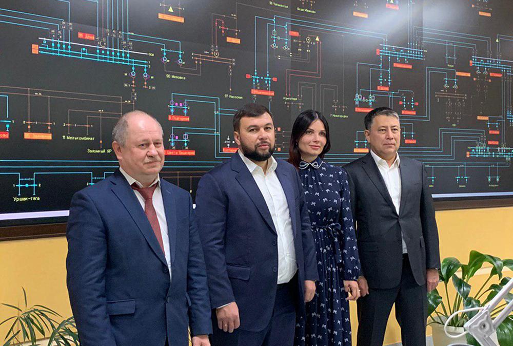 Глава ДНР Денис Пушилин ознакомился с работой уфимского Центра управления сетями