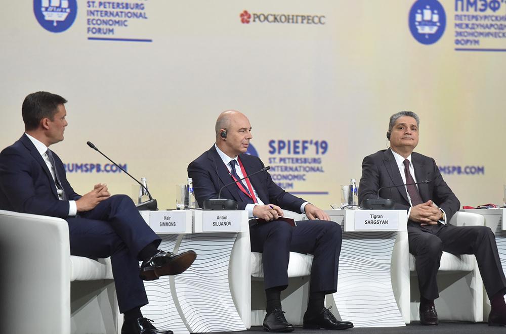 Глава ДНР Денис Пушилин принимает участие в работе Петербургского международного экономического форума – 2019