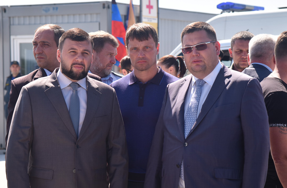 Глава ДНР Денис Пушилин посетил обновленный пункт пограничного и таможенного контроля «Еленовка»