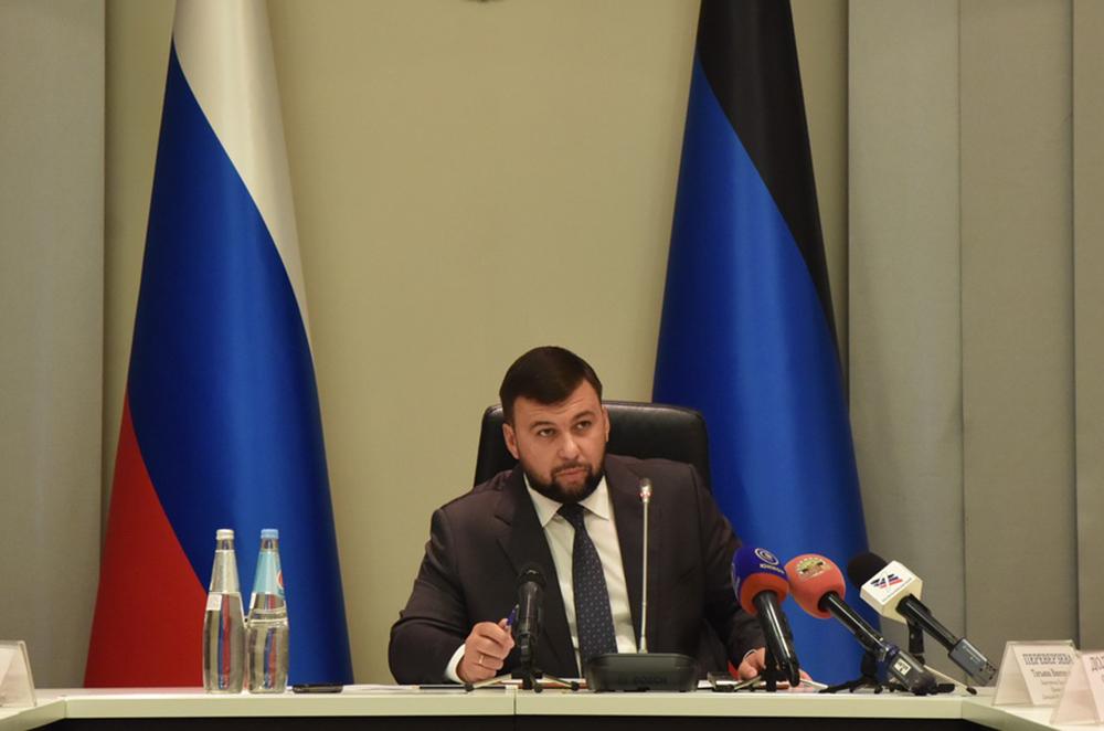 Глава ДНР Денис Пушилин поручил завершить ремонт поврежденной обстрелами плотины в селе Дибровка города Шахтерска