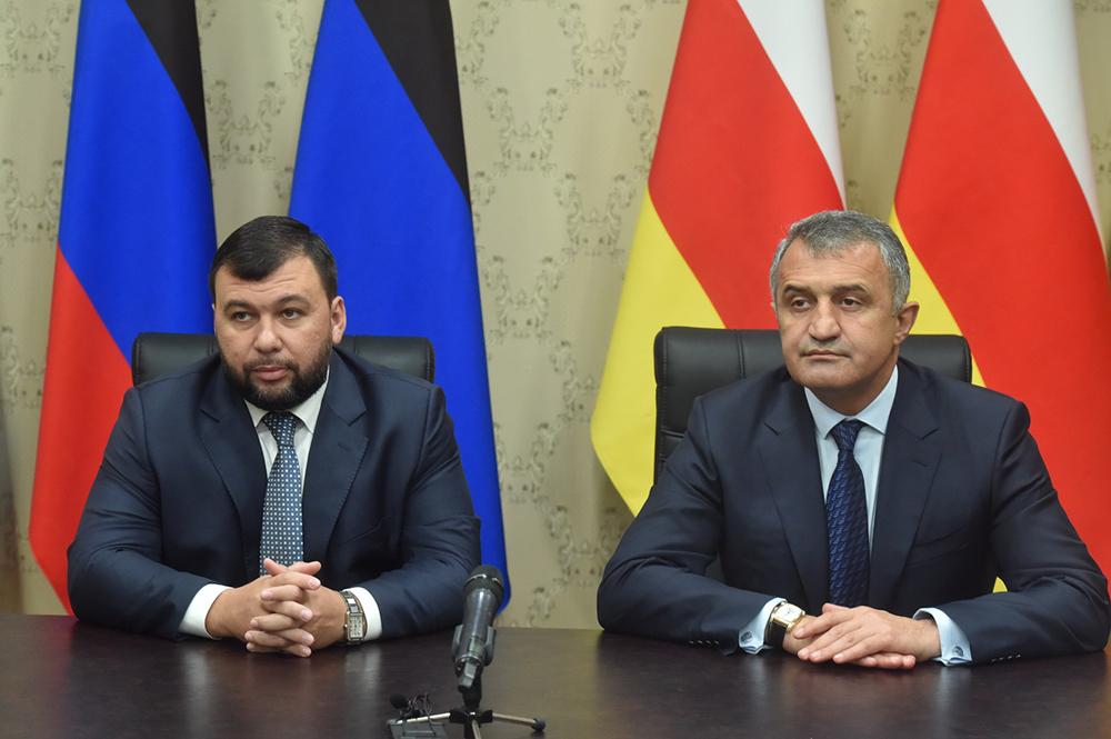 Глава ДНР Денис Пушилин и Президент РЮО Анатолий Бибилов ответили на вопросы журналистов
