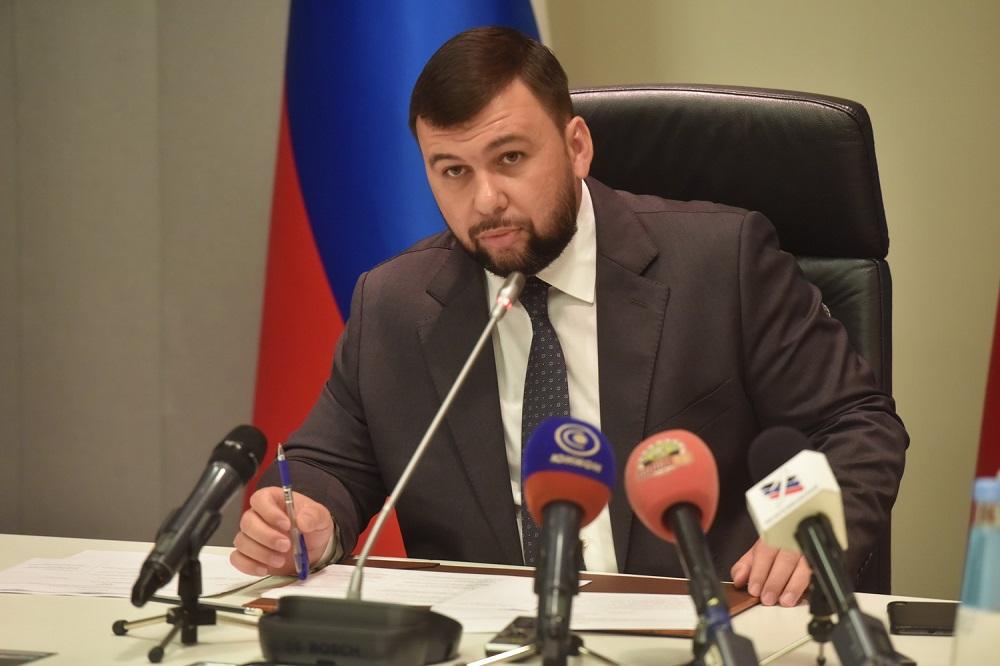 Заявление Главы ДНР Дениса Пушилина о необходимости демонтажа государства Украина