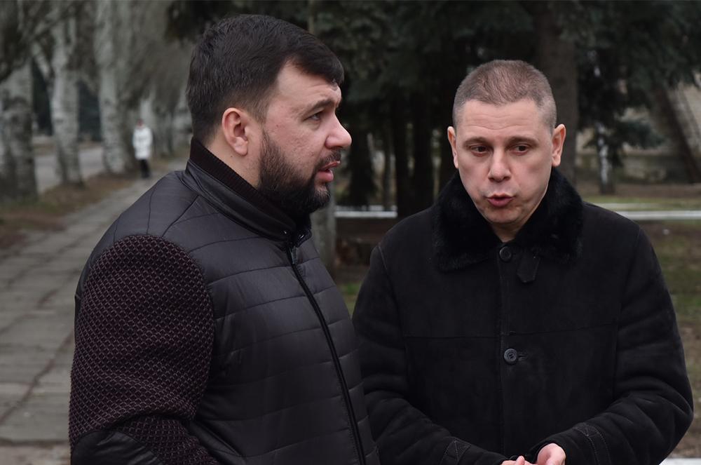 Неожиданный визит: Глава ДНР Денис Пушилин совершил рабочую поездку в Тельмановский район