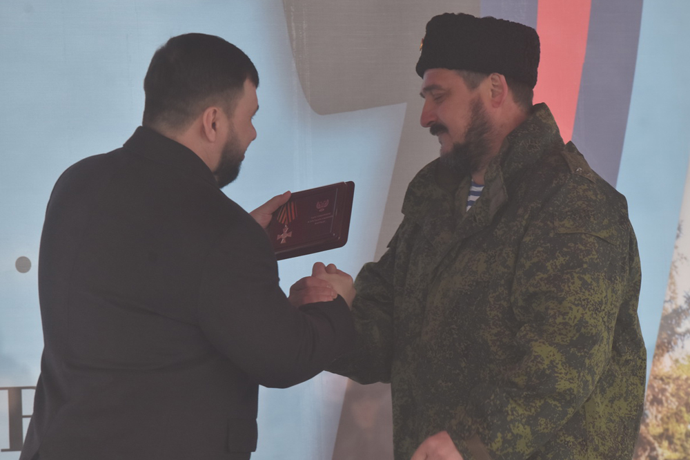 Глава ДНР Денис Пушилин объявил об учреждении медали в честь освобождения Дебальцево от украинских карателей