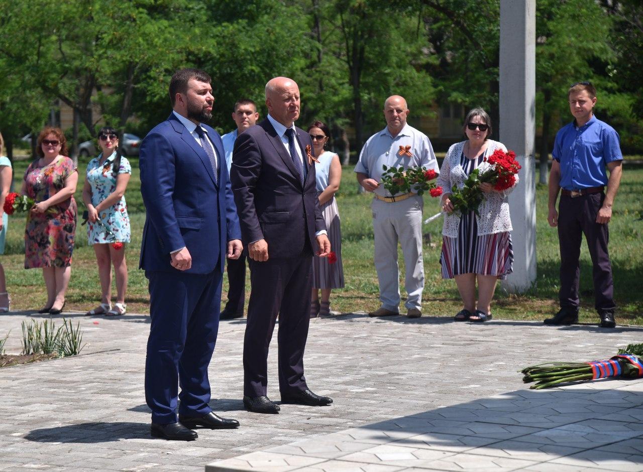 Глава ДНР Денис Пушилин поддержал всероссийскую акцию «Минута молчания»
