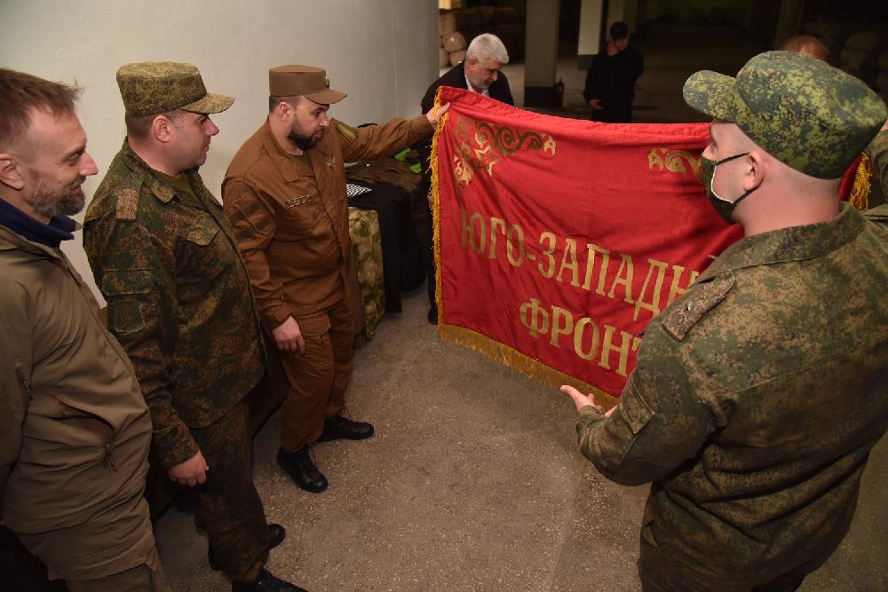 Глава ДНР Денис Пушилин проинспектировал ряд воинских частей с целью проверки боеготовности Народной милиции
