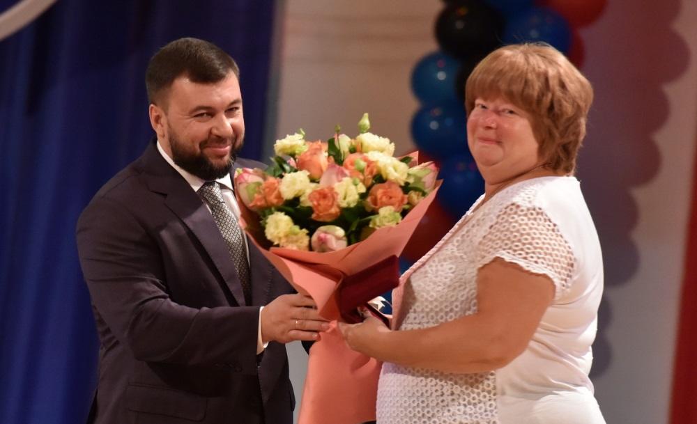 Денис Пушилин вручил государственные награды железнодорожникам