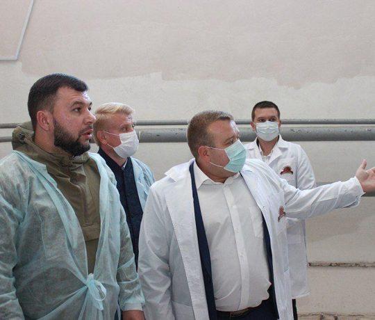 Денис Пушилин посетил Енакиевский хлебозавод